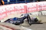 AGENCJA SITEPROMOTION - 14.04.2012 - GORZOW WIELKOPOLSKI , STADION IM. EDWARDA JANCARZA MECZ TOWARZYSKI POLSKA - RESZTA SWIATA NZ UPADAJACY GREG HANCOCK FOT. WOJCIECH TARCHALSKI / SUPERSTAR