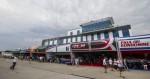 AGENCJA SITEPROMOTION - 26.07.2014 MISTRZOSTWA SWIATA RED BULL AIR RACE 2014 GDYNIA, BULWAR NADMORSKI FOT. MARCIN KARCZEWSKI / WWW.SUPERSTAR.COM.PL  NZ: LOTNISKO RED BULL AIR RACE GDYNIA KOSAKOWO, HANGARY UCZESTNIKOW MISTRZOSTW,