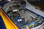 AGENCJA SITEPROMOTION - 26.07.2014 MISTRZOSTWA SWIATA RED BULL AIR RACE 2014 GDYNIA, BULWAR NADMORSKI FOT. MARCIN KARCZEWSKI / WWW.SUPERSTAR.COM.PL  NZ: LOTNISKO RED BULL AIR RACE GDYNIA KOSAKOWO, HANGARY UCZESTNIKOW MISTRZOSTW, KOKPIT SAMOLOTU