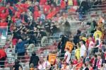 AGENCJA SITEPROMOTION - 10.06.2017 POLSKA - RUMUNIA ELIMINACJE MS 2018 PGE STADION NARODOWY ROAD TO WORLD CUP 2018 FOT. MARCIN KARCZEWSKI / WWW.SUPERSTAR.COM.PL  NZ: KIBICE, PSEUDOKIBICE, KIBOLE